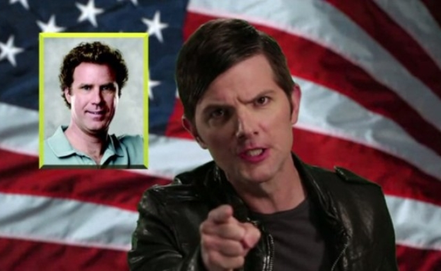 Adam Scott revives his Step Brothers character to mock/promote health insurance