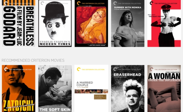 Hulu will continue to collect Criterion titles