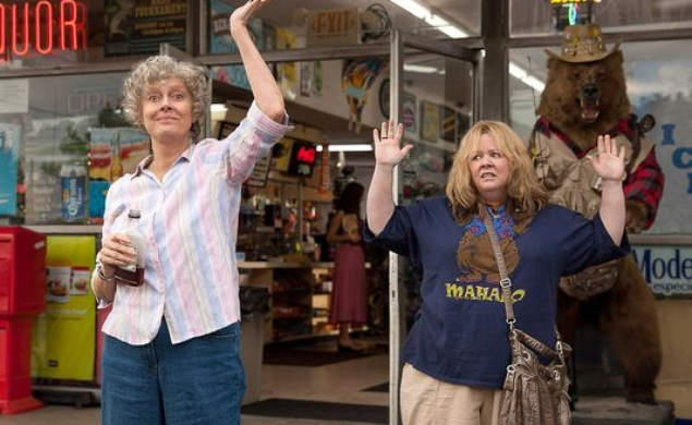 Melissa McCarthy sees America in the Tammy trailer