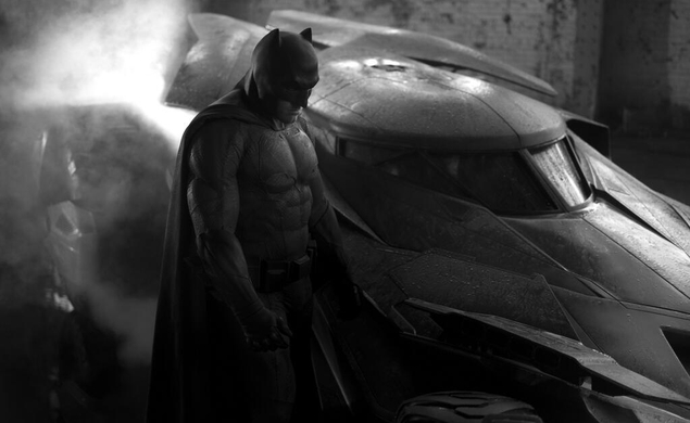 The first look at Zack Snyder's Batman and Batmobile
