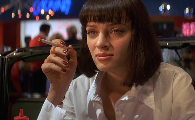 Five great shots from Pulp Fiction in honor of its 20th anniversary