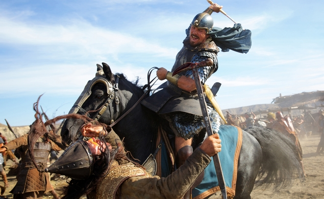 The seas parted, and the Exodus: Gods And Kings trailer appeared