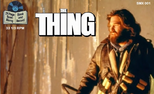 Coolness: The Thing Read-Along Record Book