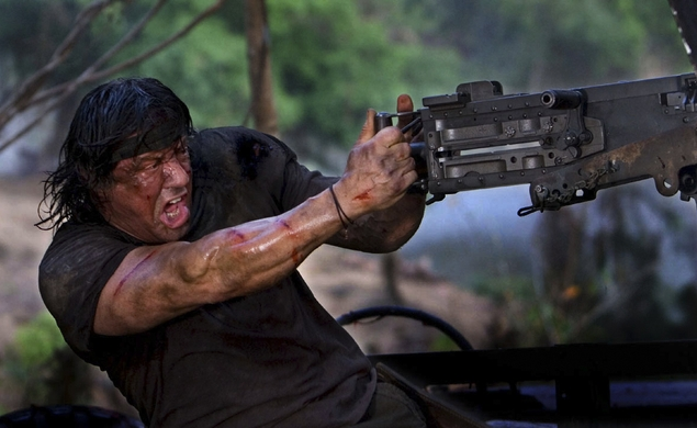 The Speculometron: Is Sylvester Stallone preparing to make Rambo: Last Blood?