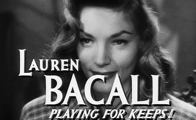 Cable pick of the day (09/15/14): Tribute to Lauren Bacall, on TCM