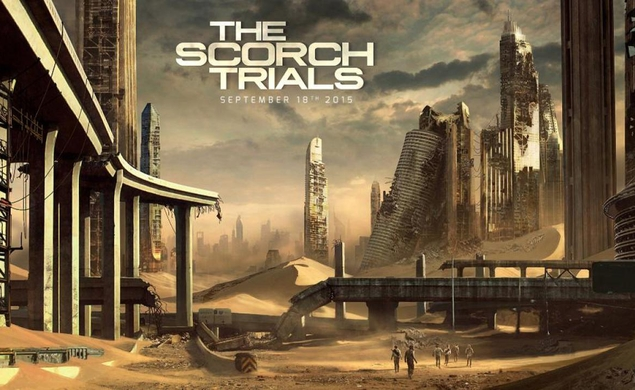 The Maze Runner series will take another lap with The Scorch Trials