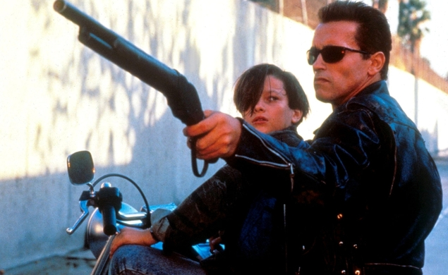 James Cameron came up with the idea for how to integrate old Arnold into Terminator Genisys