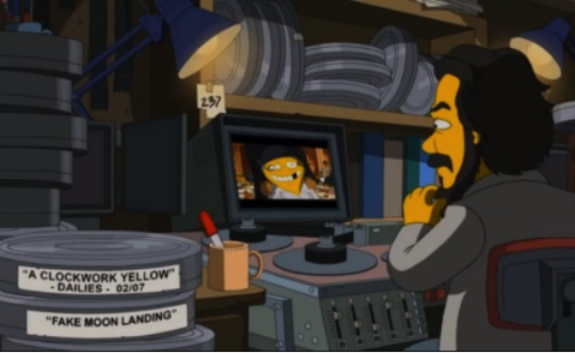 The Simpsons goes crazy, Kubrick-style