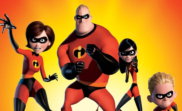 Our next (Animated) Movie Of The Week: The Incredibles