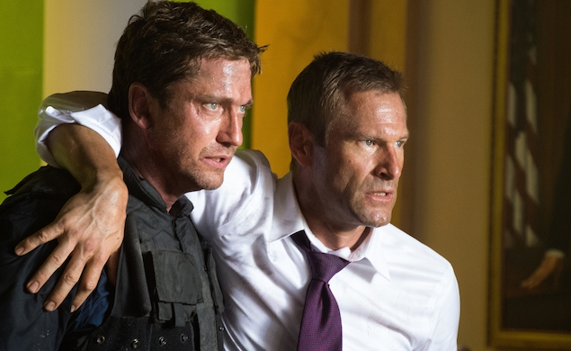 The gang's all back for the Olympus Has Fallen sequel an apathetic public has allowed to happen