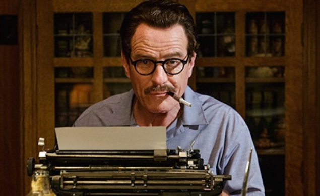 Here's a first look at good actor Bryan Cranston playing good writer Dalton Trumbo