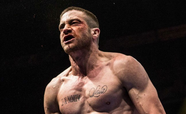Get a sneak peek at Jake Gyllenhaal's new form in the first still from Southpaw