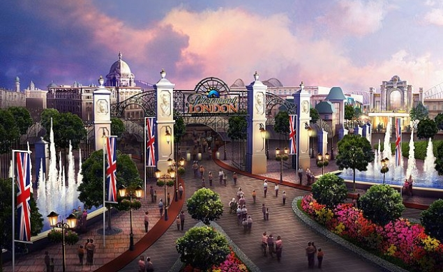Paramount and BBC will team up to break England's chilly stoicism with a theme park