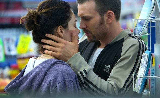 Watch Chris Evans and Michelle Monaghan try not to fall in love in Playing It Cool trailer
