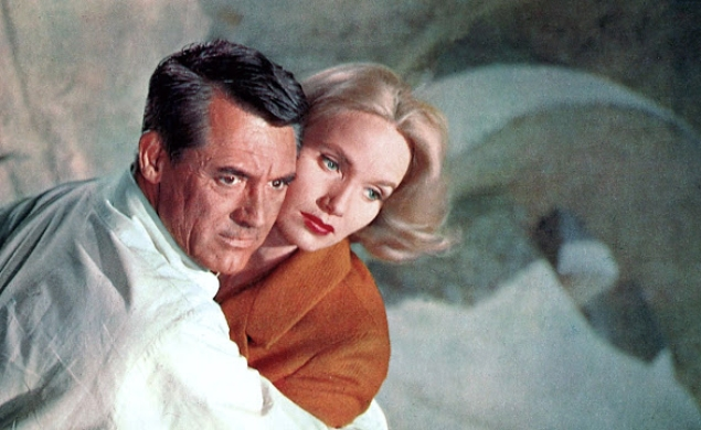 The glorious lightness of North By Northwest