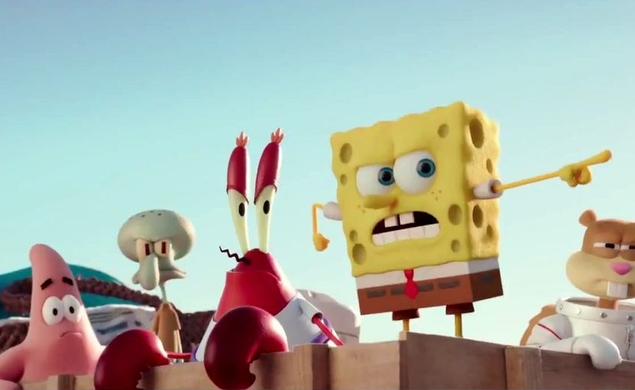 The SpongeBob Movie: Sponge Out Of Water squeegees all over the box office