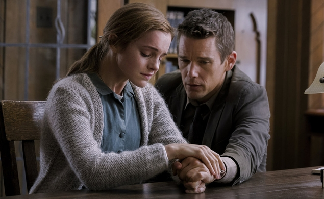 Ethan Hawke thinks this case is part of something bigger in a new Regression trailer