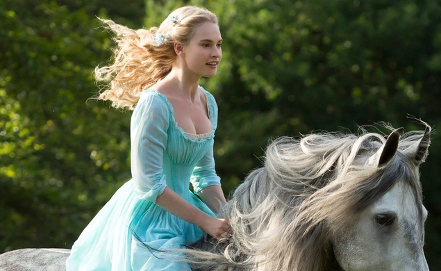 Cinderella cleans up at the box office, works its magic over mystified competitors