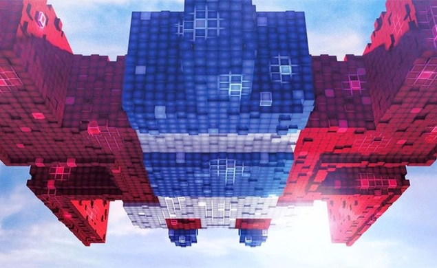 Please deposit four credits and hit 'START' on the first trailer for Pixels