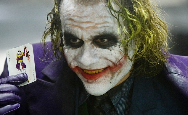 In The Dark Knight, Heath Ledger disappeared into the Joker