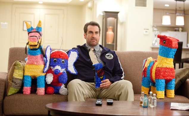 Rob Riggle to play to twins in Dumb And Dumber To