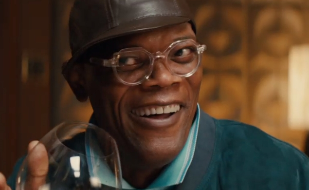 Samuel L. Jackson will try to not get eaten by Simon West's Blob