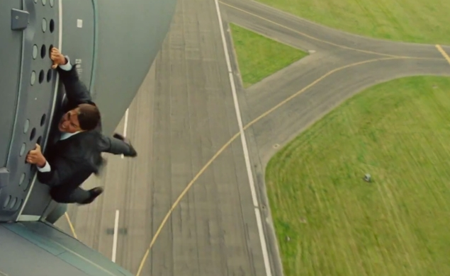 Tom Cruise just cannot play it safe in new Mission: Impossible — Rogue Nation trailer