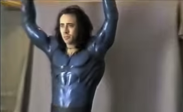 See what Nicolas Cage might have looked like in Tim Burton's failed Superman movie