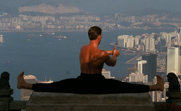 "Coolness: Jean-Claude Van Damme performs ""the most epic of splits"""