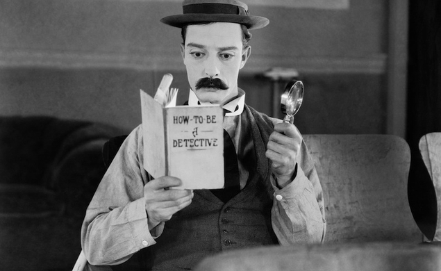 Sherlock Jr.-esque film historian finds new cut of a classic Buster Keaton short