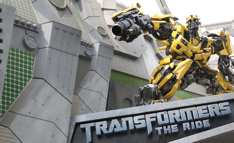 Universal Studios Florida and the evolving art of making movie rides