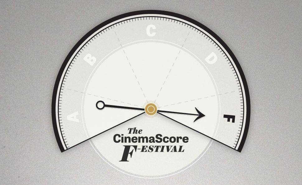 The CinemaScore F-estival