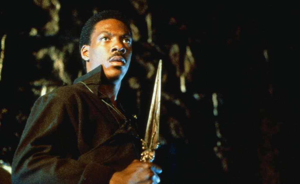 "The forgotten blockbuster The Golden Child marks the beginning of Eddie Murphy's ""not trying"" phase"