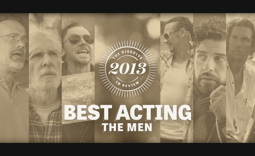 2013's best acting: the men
