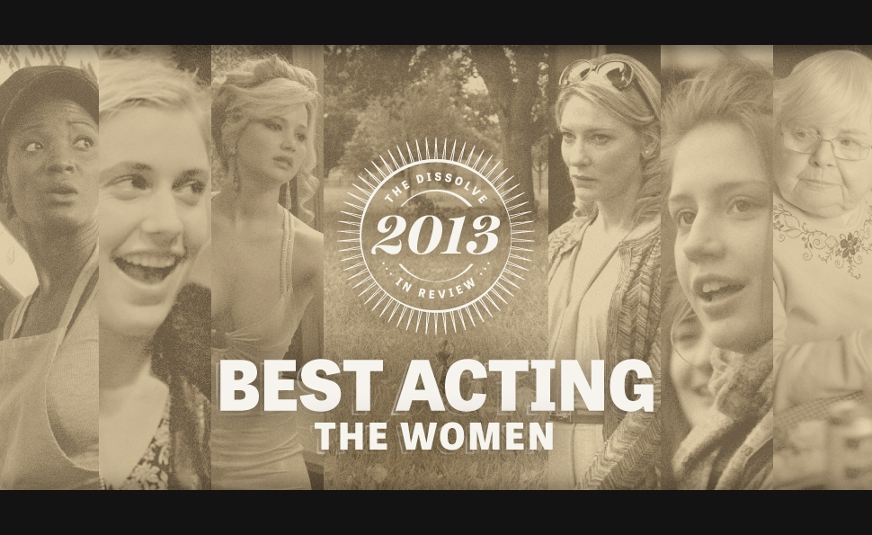 2013's best acting: the women