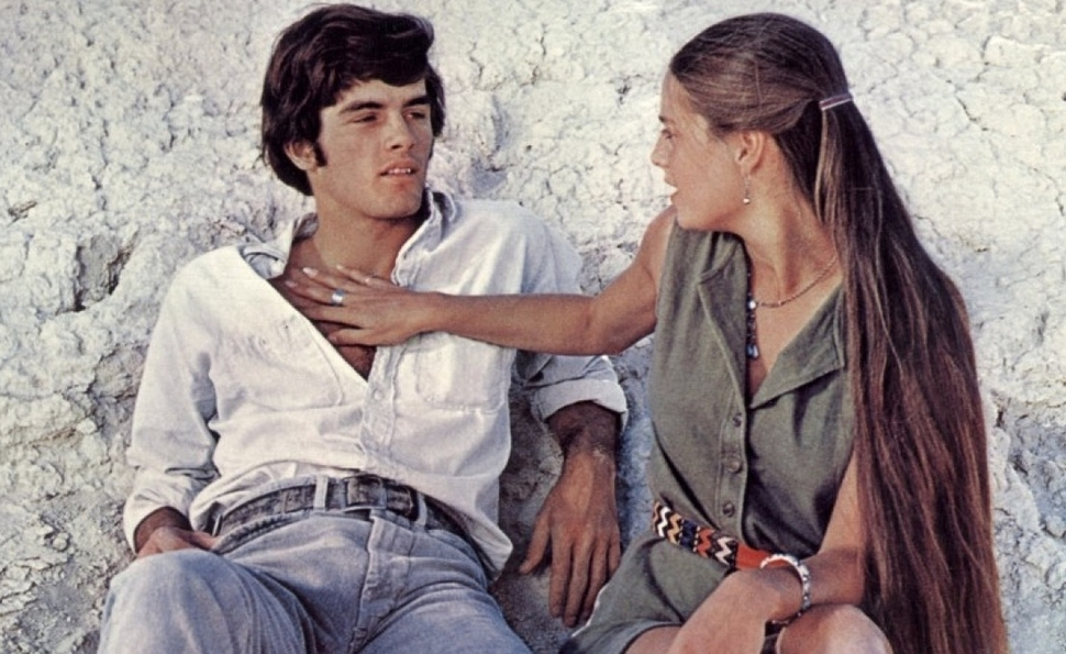 With Zabriskie Point, Antonioni offered an explosive look at America