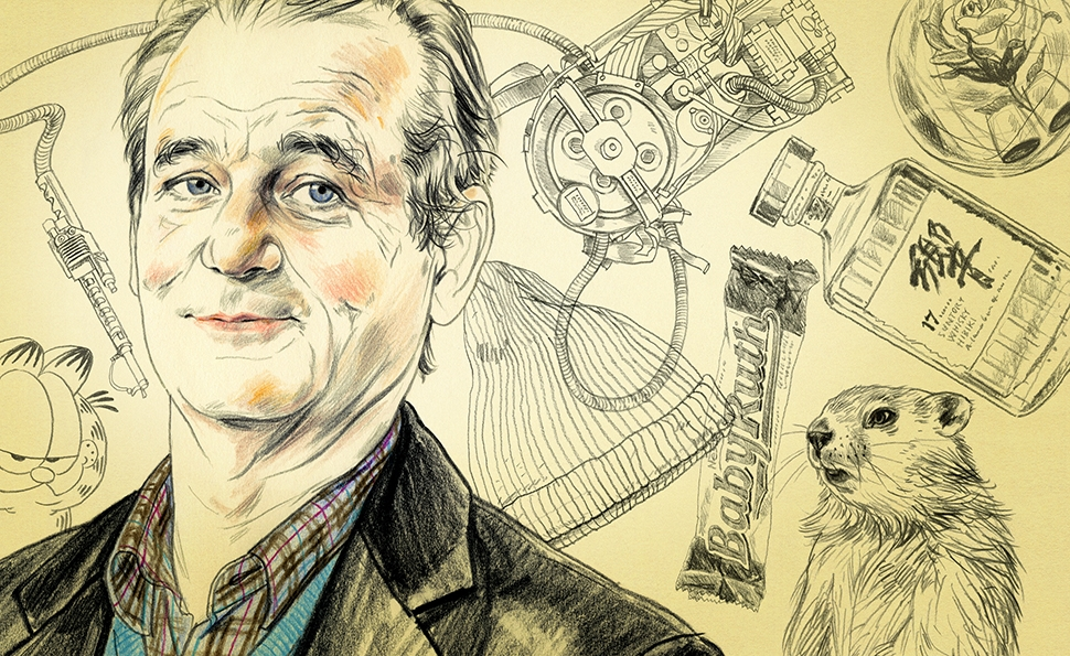 The broken-down grace of Bill Murray