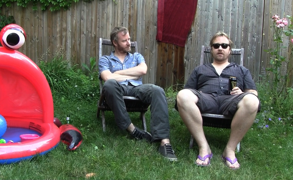 Matt and Tom Berninger on Mistaken For Strangers' unusual family portrait