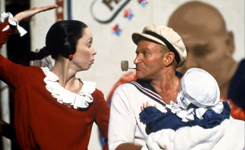 How Robert Altman turned Popeye into an Altman movie
