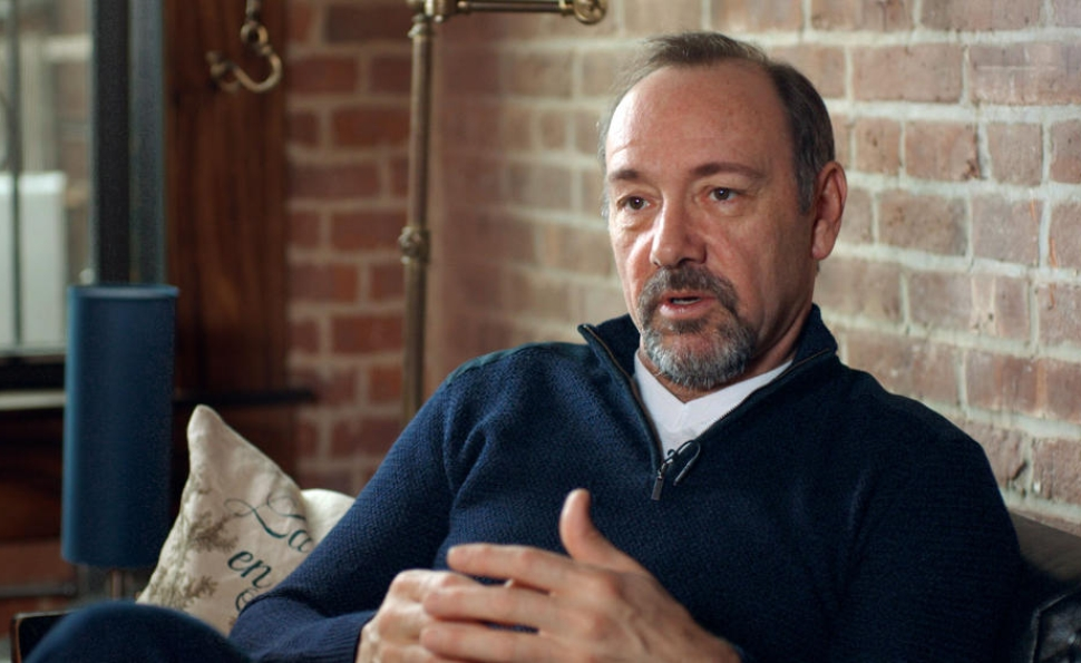 Kevin Spacey on why taking risks gets him out of bed in the morning