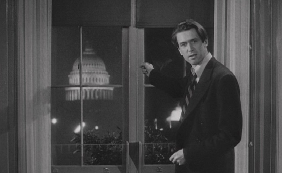 In Mr. Smith Goes To Washington, Frank Capra stood up for a simple American hero