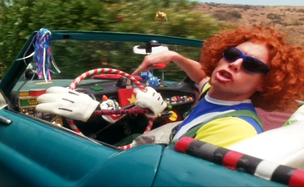 Carrot Top got to star in a movie, once