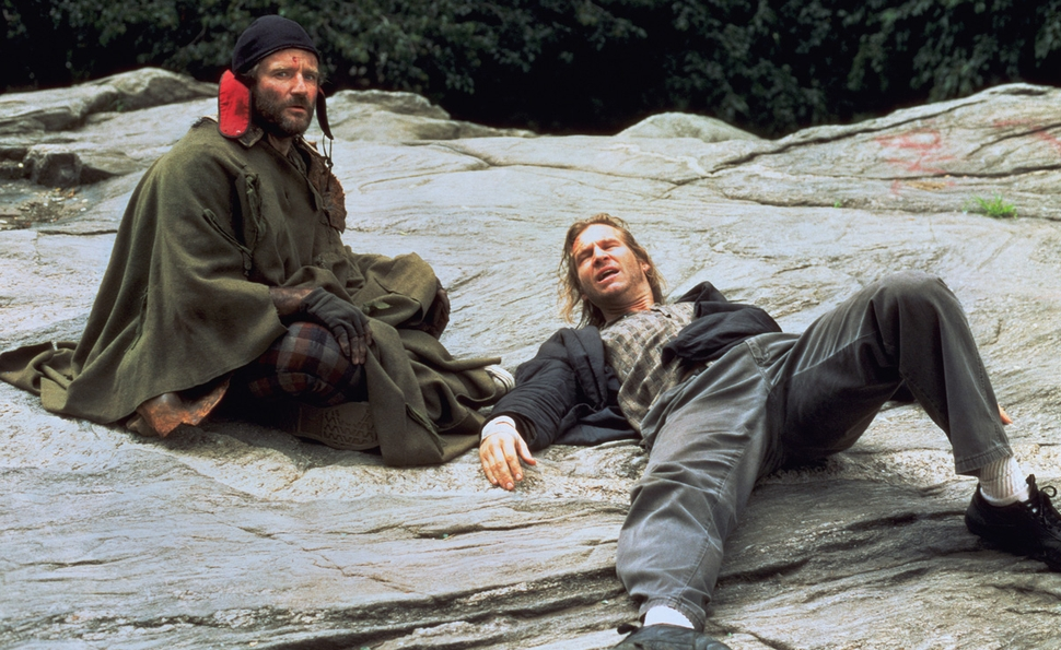 With The Fisher King, Robin Williams shrugged off the burden of genius