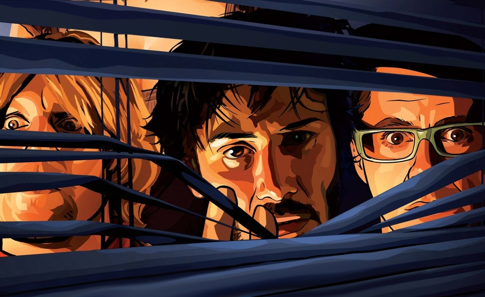 How animation stabilizes A Scanner Darkly's shifting reality