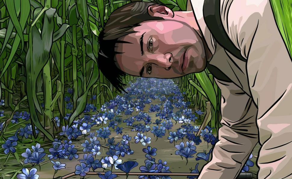 The layers upon layers of what-is-real? in A Scanner Darkly