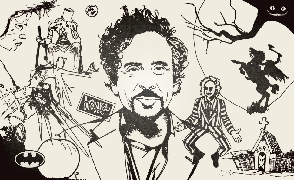 The misfit visions of Tim Burton
