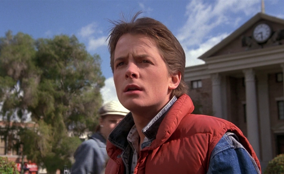 In Back To The Future, time can be bent, but never broken