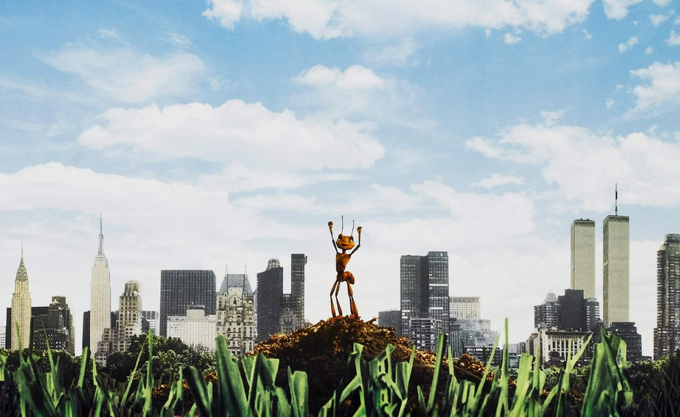 Antz beat A Bug's Life to theaters, but still became an also-ran