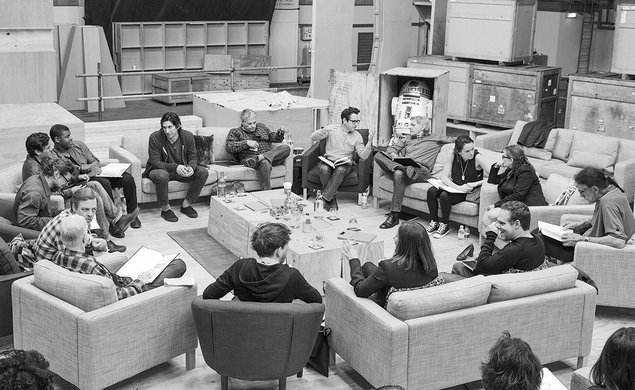Today in actual Star Wars news: The official cast of Episode VII