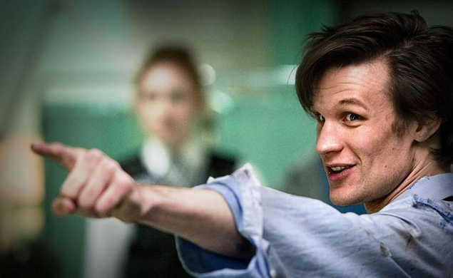 Doctor Who's Matt Smith travels through time to the day that he's cast in Terminator: Genesis